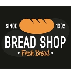 Bakery logo label or badge design elements vector