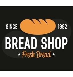 Bakery logo label or badge design elements vector image