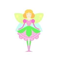 Fairytale fairy drawing vector