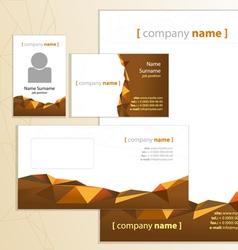 Company style orange vector