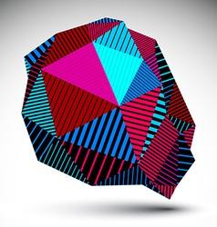 Deformed asymmetric vivid element with parallel vector