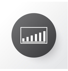 Project presentation icon symbol premium quality vector