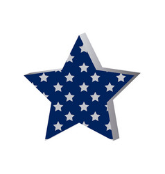 star with many stars inside icon vector image