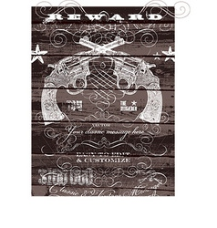 Vintage wild west background design vector image