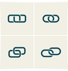 Links and chains vector