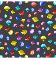 Colored diamonds texture vector