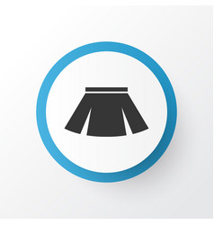 Skirt icon symbol premium quality isolated vector