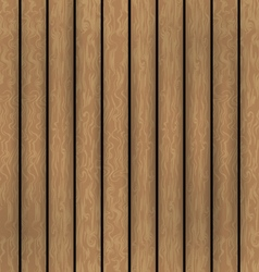 Wooden boards background vector