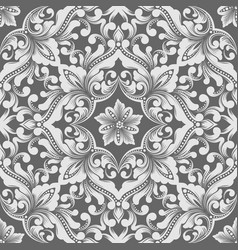 Zentangle seamless pattern element ethnic luxury vector