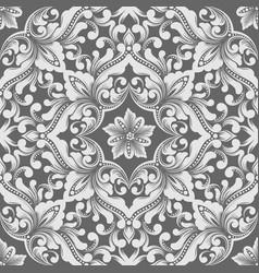 Zentangle seamless pattern element ethnic luxury vector
