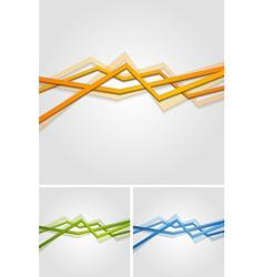 Bright stripes design vector