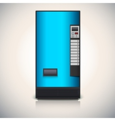 Vending machine for the sale of drinks vector