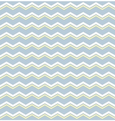 Tile pattern with white and yellow zig zag print vector