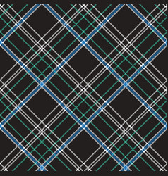 Black check plaid pixel seamless pattern vector