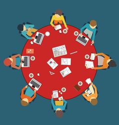 Business meeting dasign vector