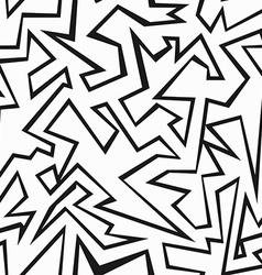 monochrome grunge seamless pattern vector image vector image