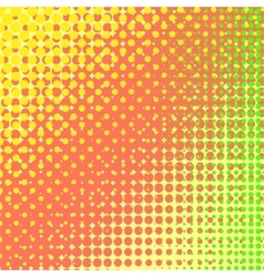 Colorful halftone texture vector
