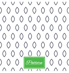 Ellipse geometric seamless pattern vector
