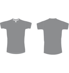 Mens sport tshirt vector
