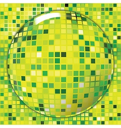 Mosaic background stained glass lens effect vector
