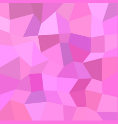 Pink geometrical abstract irregular rectangle vector