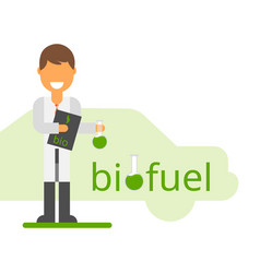 Scientist invented eco-fuel vector