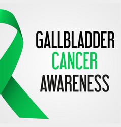 World gallbladder cancer day awareness poster vector