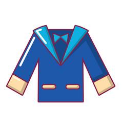 wedding groom suit icon cartoon style vector image
