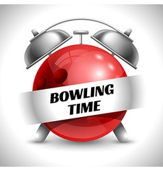 Bowling time vector
