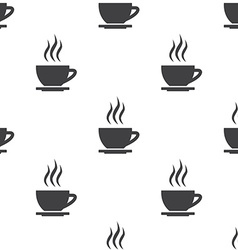 cap of tea seamless pattern vector image