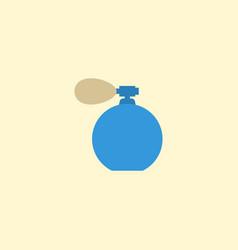 flat icon perfuming bottle element vector image