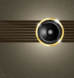 modern music background vector image vector image