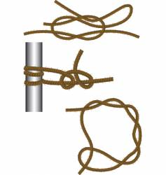 Reef knot vector
