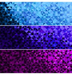 Abstract Sparkle Blue Pink Violet Background vector image