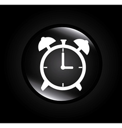 Time design over black background vector