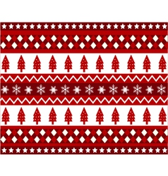 Seamless pattern with christmas texture vector
