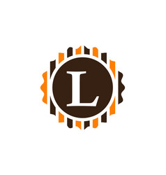 Best quality letter l vector