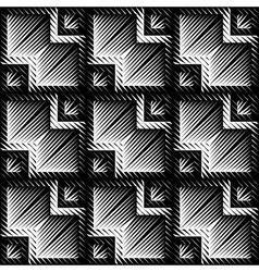 Design seamless zigzag pattern vector image
