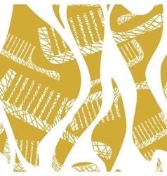 seamless pattern with comb vector image vector image