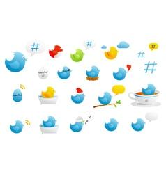 tweety birds vector image vector image