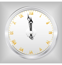 Skeleton clock vector