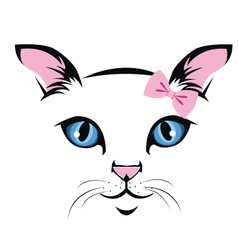 Cat-face vector
