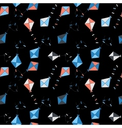 Kite seamless pattern background vector