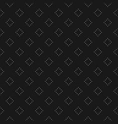 seamless pattern minimalist rhombuses texture vector image