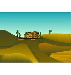 tuscany vector image