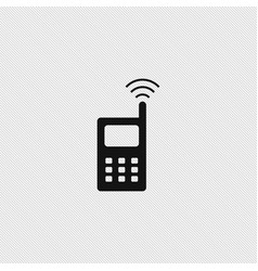 Wireless icon simple vector