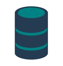 cd storage icon vector image vector image