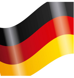 Germany flag isolated icon vector