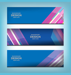 web banner header vector image vector image