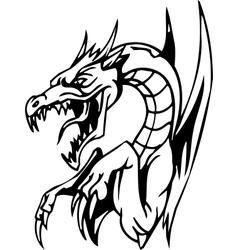 Dragon - halloween set - vector
